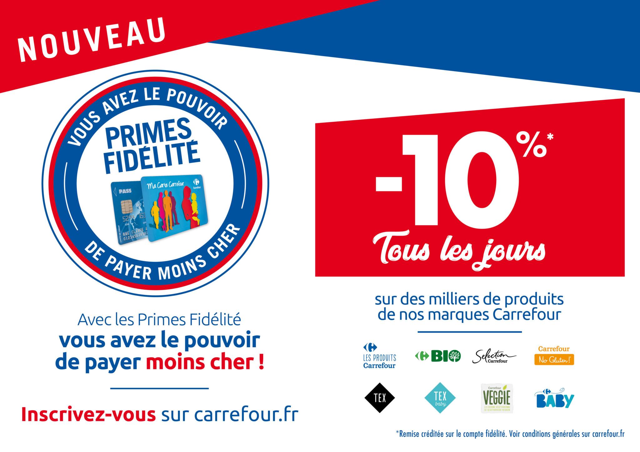 carrefour carte de fidelite Etre fidèle à votre hypermarché Carrefour a ses avantages